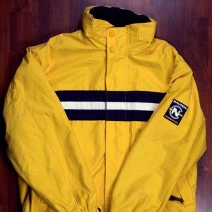 Yellow Nautica Competition Reversible Jacket
